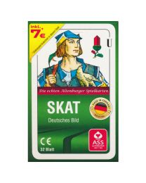 Skat Cards ASS Altenburger German Pattern in Tuck Box