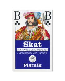 Piatnik Skat Playing Cards with Extra Large Indices