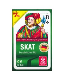 Skat Playing Cards French Pattern in Tuck Case ASS Altenburger