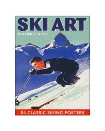 Ski Art Playing Cards Piatnik