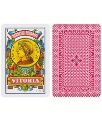 Spanish Cards Baraja Española Nº 1 Fournier Rojo