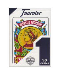 Spanish Cards Baraja Española Nº 1 Fournier Azul