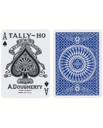 Tally-Ho Circle Back Playing Cards Blue