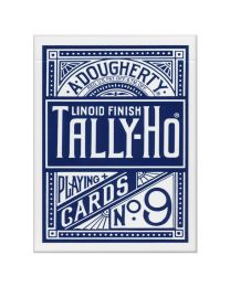 Tally-Ho Fan Back Playing Cards Blue