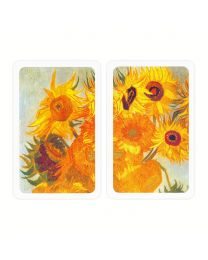Van Gogh Sunflowers Playing Cards Piatnik