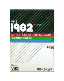 VHS 1982 Standard Playing Cards