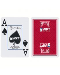 WPT Playing Cards Bicycle Red