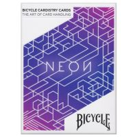 Bicycle Neon Blue Aurora Playing Cards Cardistry