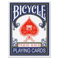 Bicycle Paris Back Playing Cards Blue