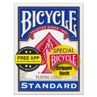 Bicycle Stripper Deck Blue