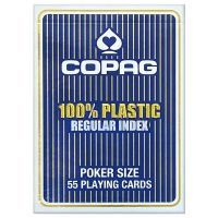 COPAG Regular Index Playing Cards Blue