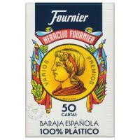 Fournier 50 Cards Spanish Deck 100% Plastic