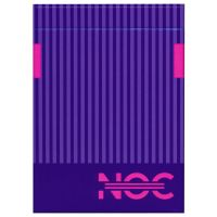 NOC 3000X2 Playing Cards Purple Edition