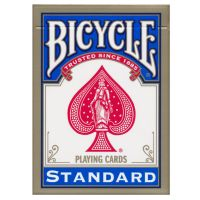 Bicycle 808 Gold USA Playing Cards Blue