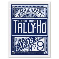 Tally-Ho Circle Back Playing Cards Blue