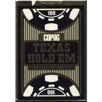 COPAG Cards Texas Hold'Em Gold Jumbo Index Blue