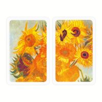 Van Gogh Sunflowers Playing Cards Piatnik
