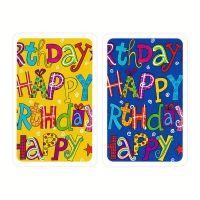 Happy Birthday Playing Cards Piatnik