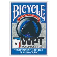 WPT Playing Cards Bicycle Blue