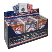 Bicycle 12 Pack Playing Cards Standard Faces