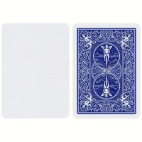 Bicycle Blank Face Playing Cards Blue