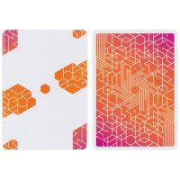 Bicycle Cardistry Cards Neon Orange
