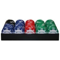 Bicycle Clay Poker Chips with Tray