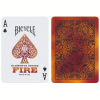 Bicycle Fire Playing Cards Elements Series