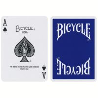 Bicycle Insignia Back Cards Blue