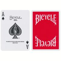 Bicycle Insignia Back Playing Cards Red