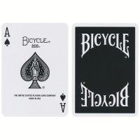 Bicycle Insignia Back Playing Cards Black