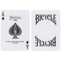 Bicycle Insignia Back Playing Cards White