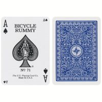 Bicycle Rummy Playing Cards 2-Pack Set