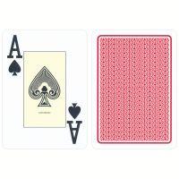 Cartamundi Casino Cards Plastic Red