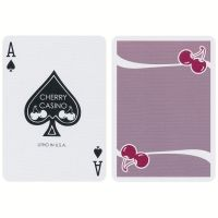 Cherry Casino Flamingo Quartz Pink Playing Cards