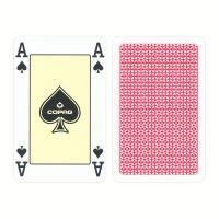 COPAG Bridge Cards 4 Corner Index Red