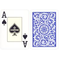 COPAG Plastic Poker Cards Double Deck Red & Blue
