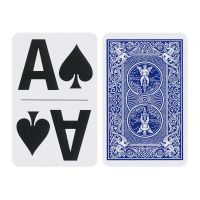 Bicycle Large Print Playing Cards Blue