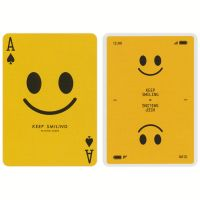 Keep Smiling Playing Cards