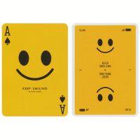 Keep Smiling Playing Cards