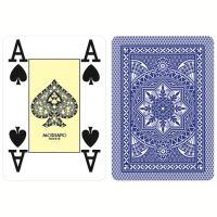 Modiano Poker Cards 4 Jumbo Index Blue