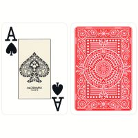 Plastic Playing Cards Modiano Texas Poker Red