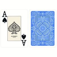Plastic Playing Cards Modiano Texas Poker Light Blue