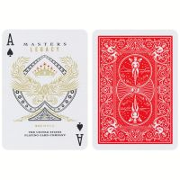Playing Cards Bicycle Legacy Masters Red