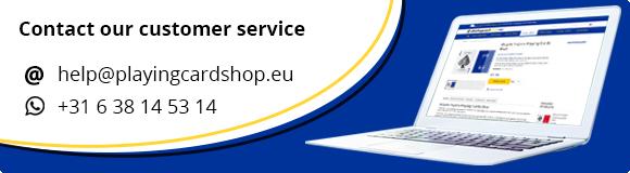 Customer Service Playing Card Shop EU