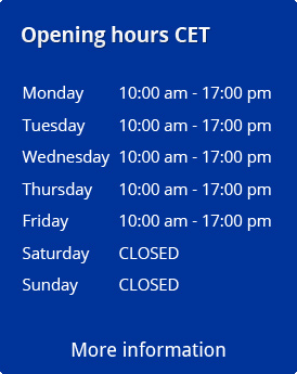 opening hours playing card shop